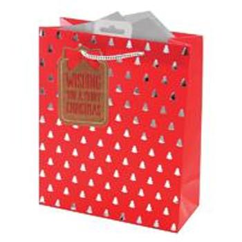 Christmas Icons Medium Gift Bag