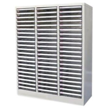 63 Plastic Drawer Cabinet Picking Bin in Steel Cabinet