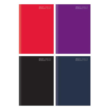 2021-2022 A5 Day a Page Case Bound Academic Diary
