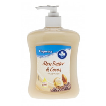 Shea Butter and Cocoa 500ml Handwash by Hygienics Hand Wash Soap