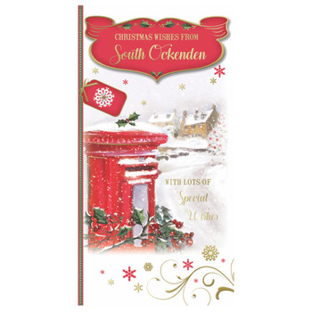 With Lots of Special Wishes From South Ockenden Christmas Card