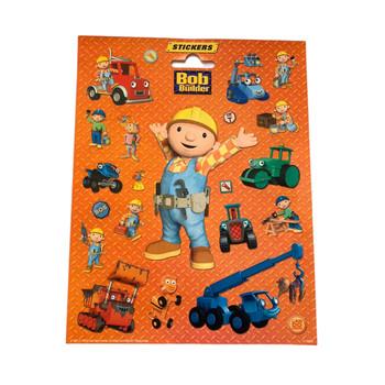 Bob the Builder Sticker Sheet