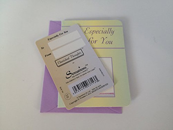 Get Well Soon...Wallet Card (Sentimental Keepsake Wallet / Purse Card)