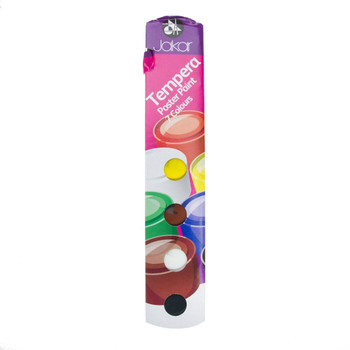 Pack of 7 Tempera Poster Paints 7 Colours
