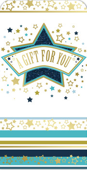 A Gift For You Star Design Luxury Gift Money Wallet Card
