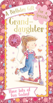 A Birthday Gift For a Special Granddaughter Luxury Gift Money Wallet Card