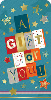 A Gift For You Luxury Gift Money Wallet Card