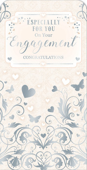 Congratulation On Your Engagement Luxury Gift Money Wallet Card