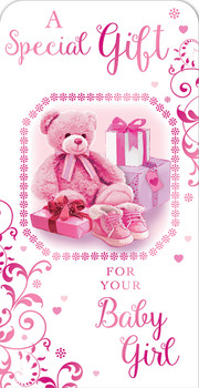 A Special Gift For Your Baby Girl Luxury Gift Money Wallet Card