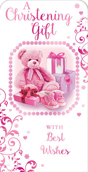 A Christening Gift For Baby Girl Luxury Gift Money Wallet Card