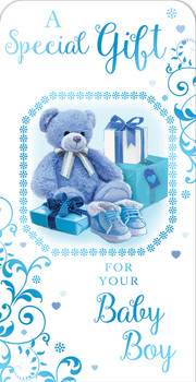 A Special Gift For Your Baby Boy Luxury Gift Money Wallet Card