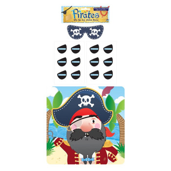 14 Pieces Stick The Eye Patch On The Pirate Party Game