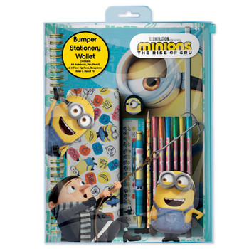 Minions Movie Bumper Stationery Wallet