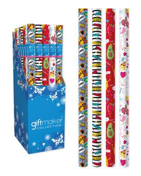 3m Teen Mix Design Gift Wrap Roll