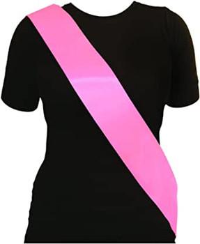 Plain Pink Sash {DC}