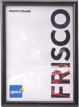 A4 Kenro Frisco Frame Black Border Glass Front