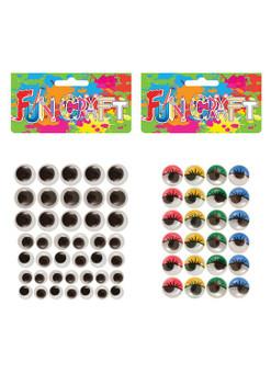 Pack of Googly Eyes Craft Kits