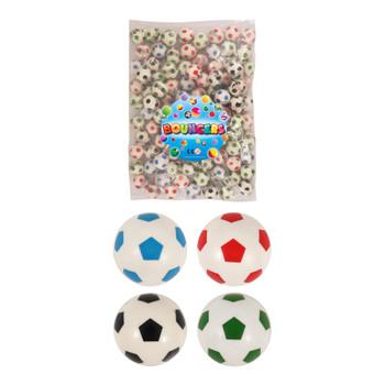 Bag of 100 Football Bouncy Balls Jet Balls