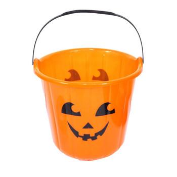 Pack of 12 Pumpkin Trick or Treat Buckets