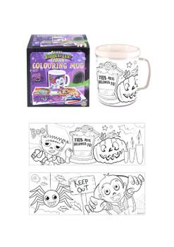 Halloween Colouring Mug
