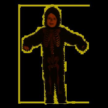 Child Skeleton Fancy Dress Costume 7-9 Years Old