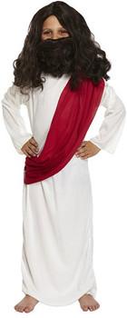 Child Joseph Christmas Nativity Fancy Dress Costume 10-12 Year Olds
