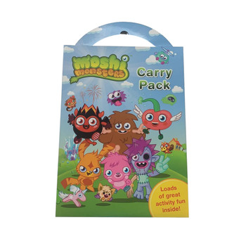 A4 Moshi Monsters Carry Pack Colouring and Activity