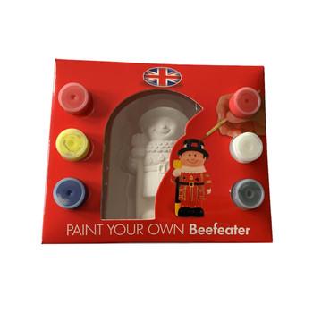 Paint your own Beefeater London Souvenir