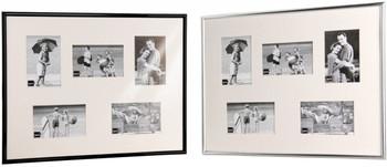 Kenro Frisco Collage Black Photo Frame 5 Aperture