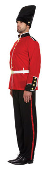 Adult Busby Guard Fancy Dress Costume