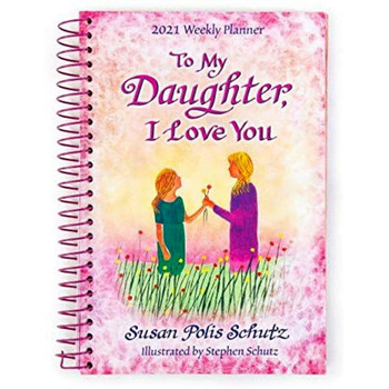 Blue Mountain - Daughter I Love You Weekly Planner 2021