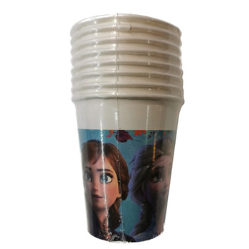 Pack of 8 Frozen 2 Design 200ml Paper Cups