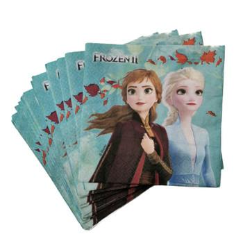 Pack of 20 Frozen 2 Design 2Ply Napkins