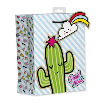 Cactus Design Medium Gift Bag
