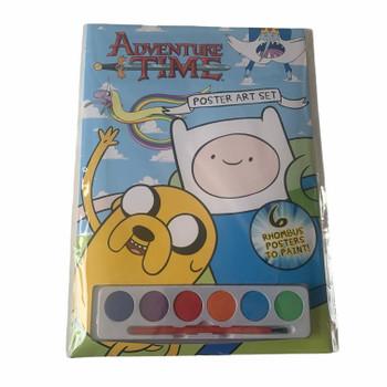 A4 Adventure Time Poster Paint Art Set