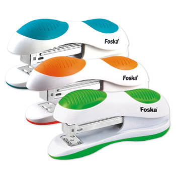 Foska Coloured Grip Stapler (20 Sheets)
