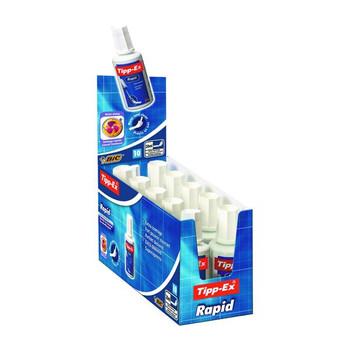 Pack of 10 Tipp-Ex Rapid Correction Fluid 20ml