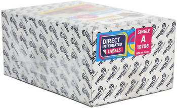 Box of 1000 A4 Direct Integrate Labels from Priory Direct