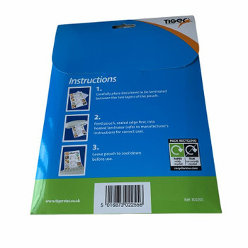 Pack of 25 A5 Laminating Pouches 250 Micron