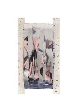 Silver Foil Door Curtain (92x244cm)
