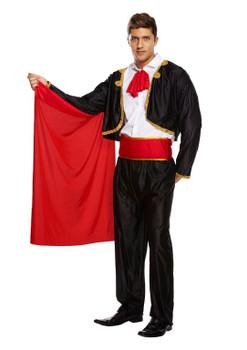 Adult Matador Man Fancy Dress Costume