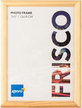 "Kenro Frisco Oak Border Photo Frame 10x15cm (6x4"")"