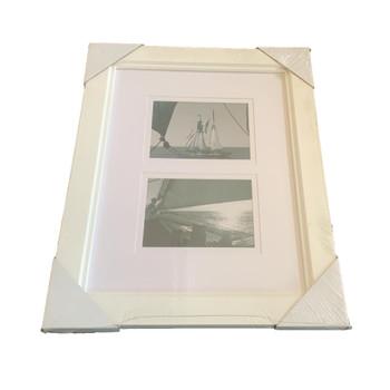 Kenro Bergamo Double Use 2 Aperture Photo Frame
