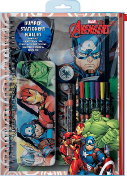Avengers Classic Bumper Stationery Wallet