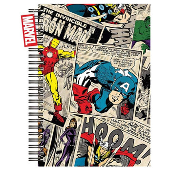 Marvel Comic A5 Hardcover Notebook