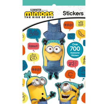 Minions Movie 700 Stickers