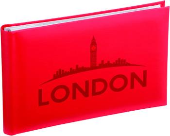 Kenro London Skyline Red Small Photo Album