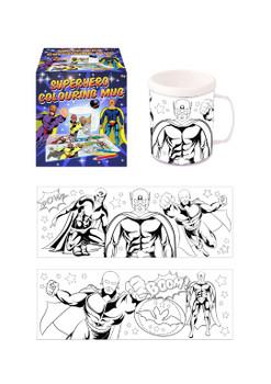 Superhero Colouring Mug