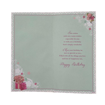 To Special Nan Birthday Wishes Soft Whispers Card