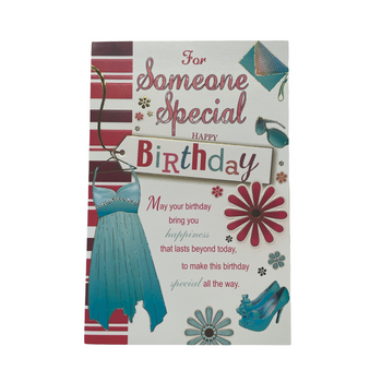 Happy Birthday Card For Someone Special